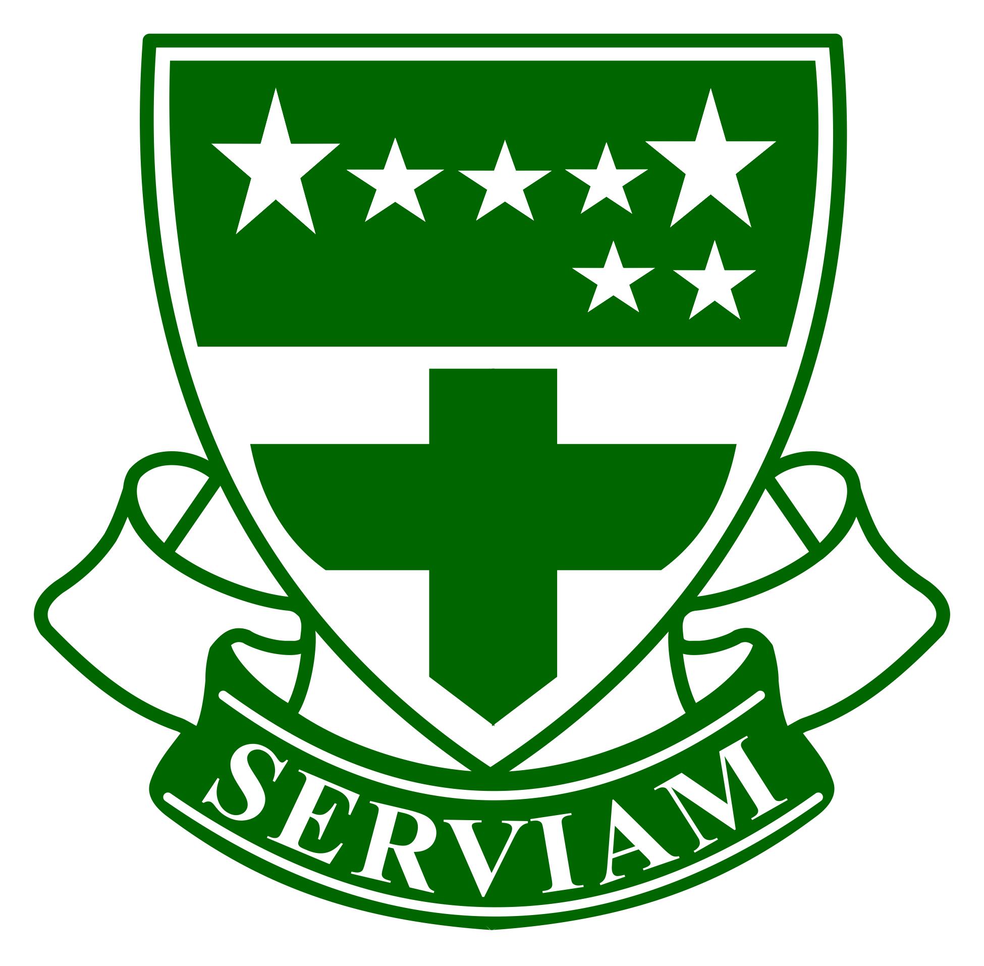 Logo Serviam | Perpustakaan SMP-SMA Santa Angela